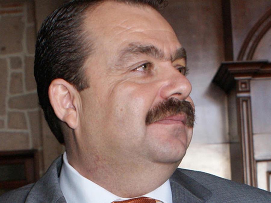 Fotografía cedida en donde aparece el fiscal en funciones del estado mexicano de Nayarit, Édgar Veytia, quien fue detenido en San Diego, California, acusado de tráfico de drogas.