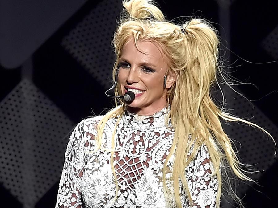 Britney Spears en Jingle Ball