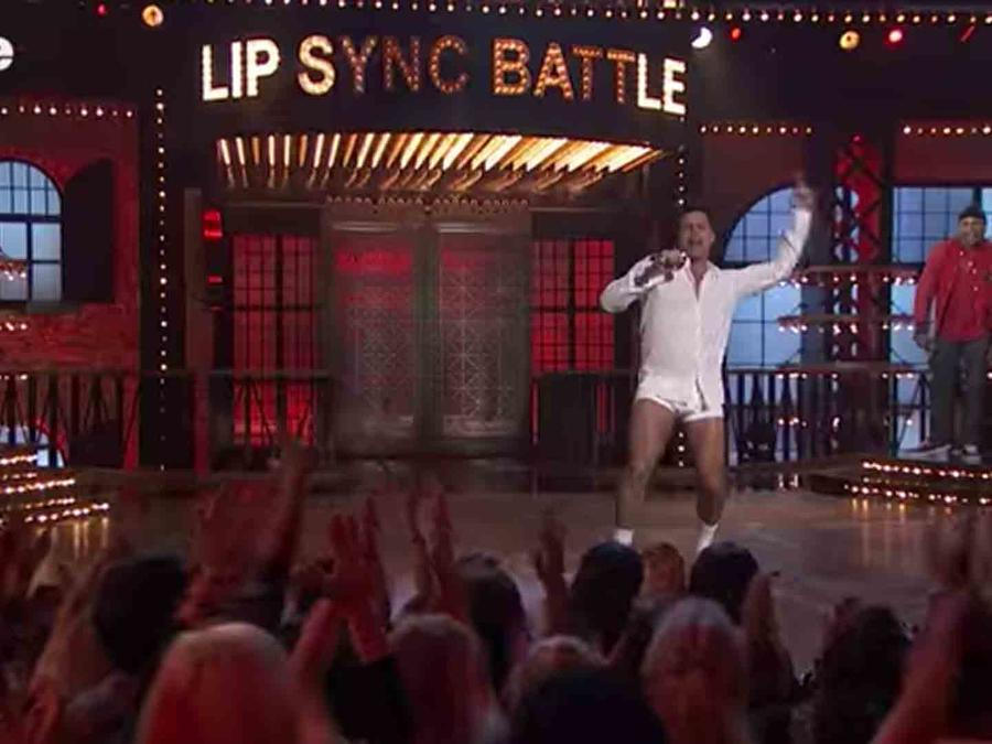 Watch Ricky Martin Channel Tom Cruise And Dance in His Underwear On Lip Sync Battle