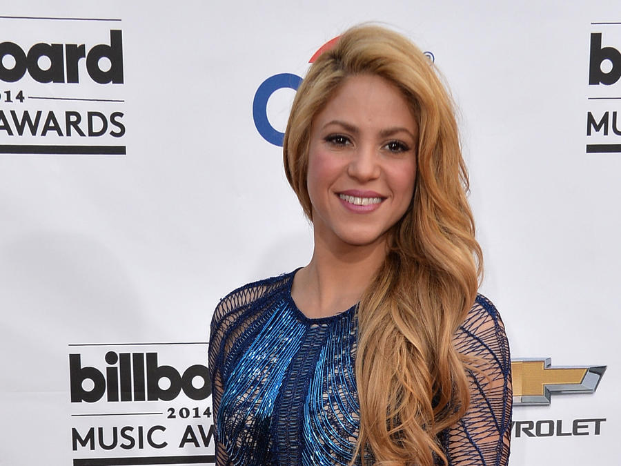 Shakira en la alfombra de los Billboard Music Awards