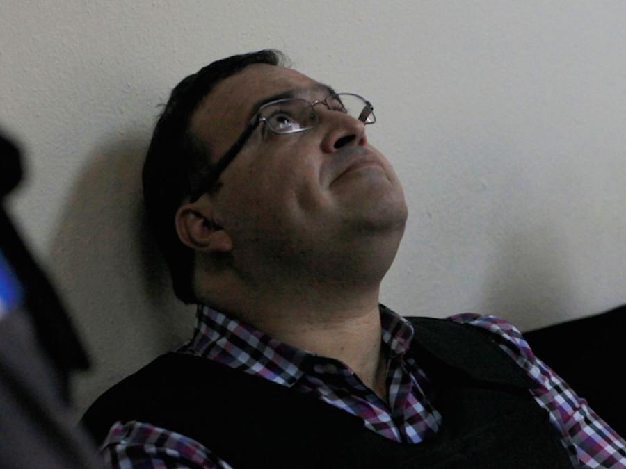 Javier Duarte en audiencia