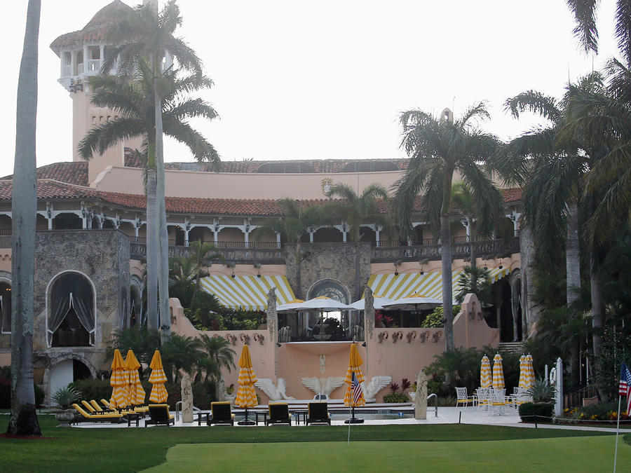 Esta foto tomada el 15 de abril del 2017 muestra el centro reacreativo Mar-a-Lago, del presidente Donald Trump, en Palm Beach, Florida.