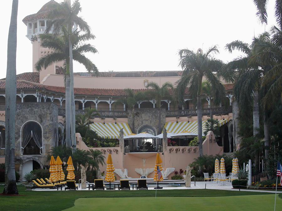 El club privado Mar-a-Lago en Florida, propiedad de Donald Trump, en una foto de archivo correspondienteal pasado mes de abril.