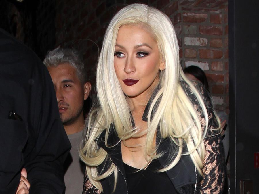 Christina Aguilera en Los Ángeles
