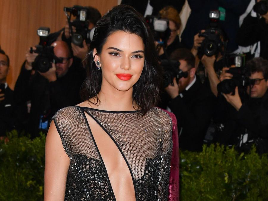 Kendall Jenner en la MET Gala 2017