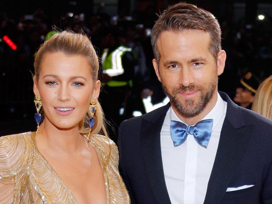 Ryan Reynolds y Blake Lively en la MET Gala 2017
