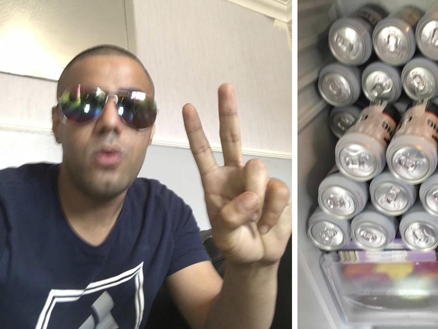 Pidió ayuda en GoFundMe para comprar alcohol