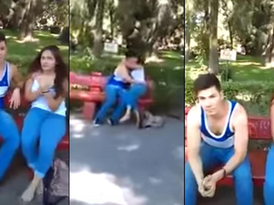 El papá de una chica descubre al novio siéndole infiel