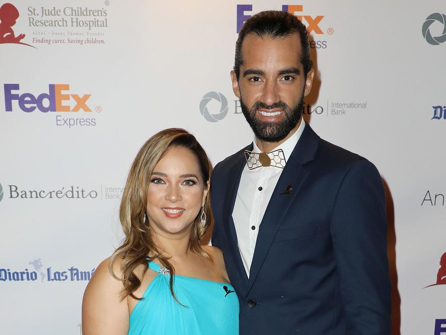 Adamari López y Toni Costa en la gala de St. Jude