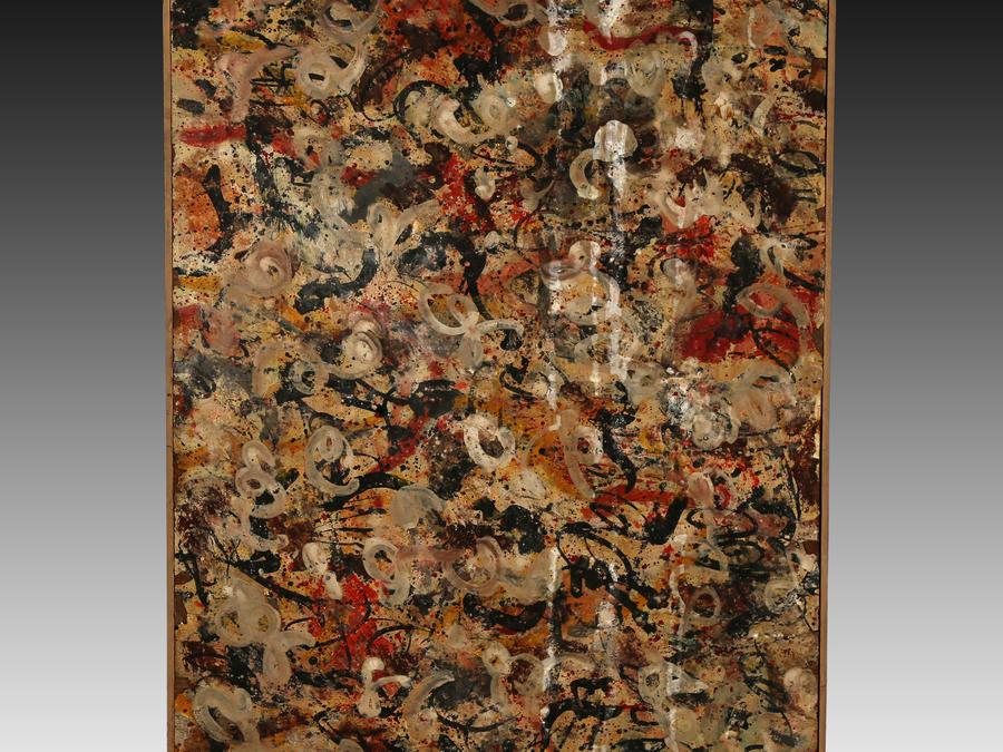 Pintura de JAckson Pollock