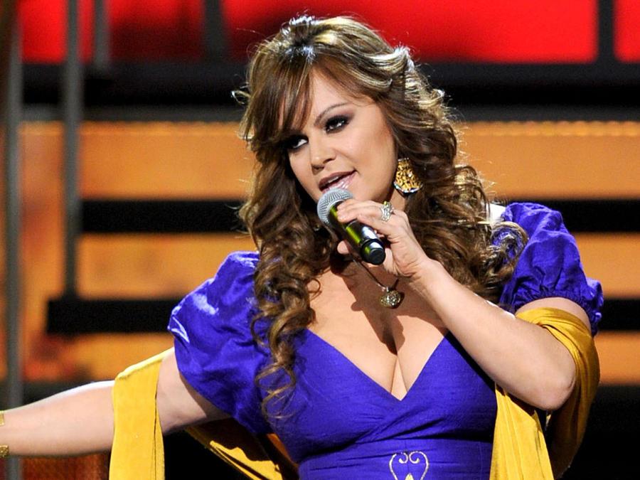 Jenni Rivera en los Premios Latin Grammy 2010