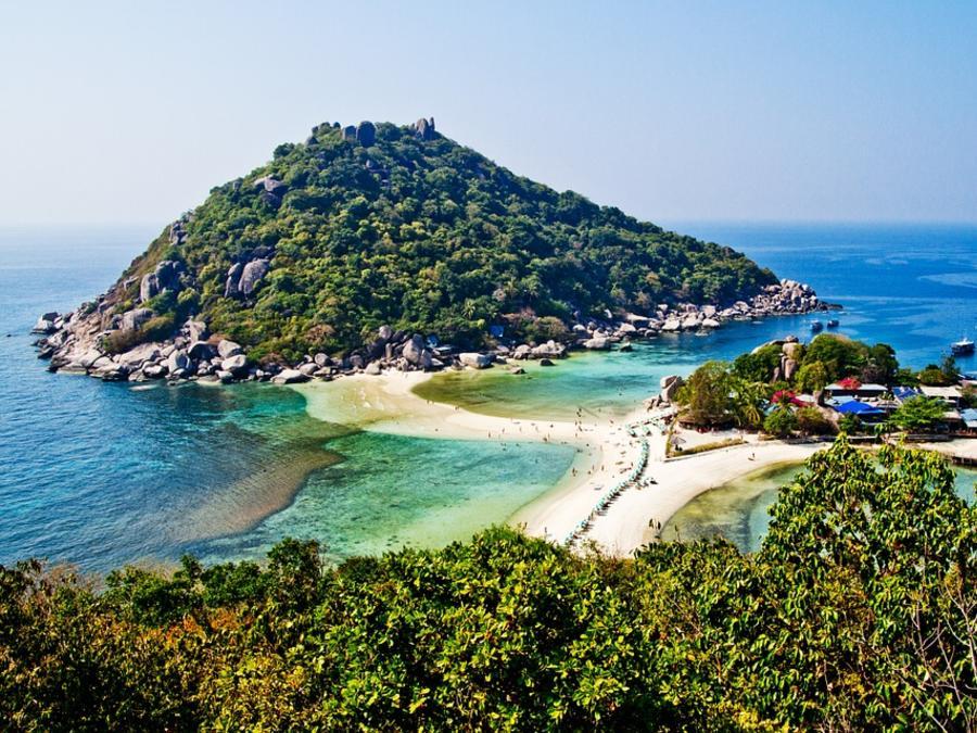 Nangyuan Koh Nang Yuan Thailand Koh Tao Beach