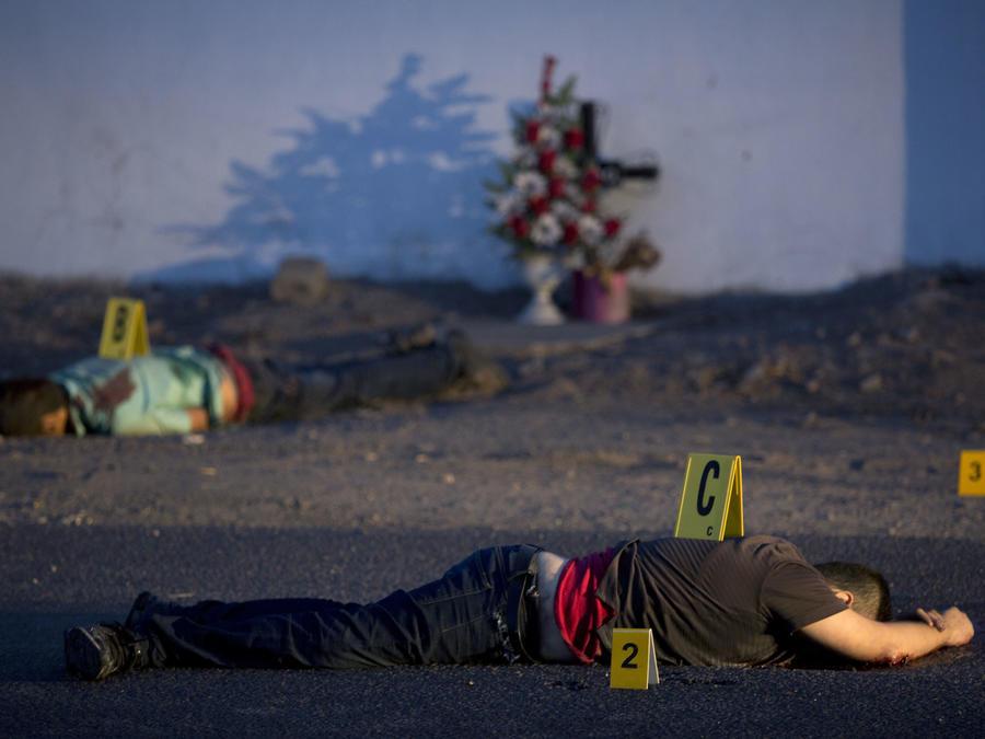 Dos cadáveres en el estado de Sinaloa en junio.