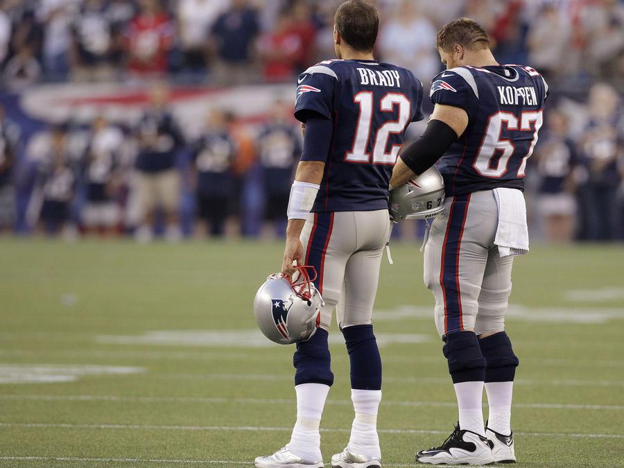Tom Brady, Dan Koppen