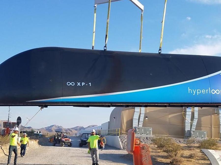 Esta es la velocidad que alcanza el Hyperloop One