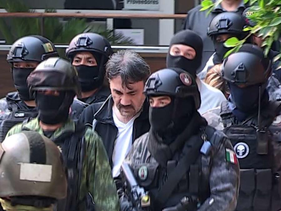 """Dámaso López, alias El Licenciado es considerado el sucesor de Joaquín """"el Chapo"""" Guzmán."""