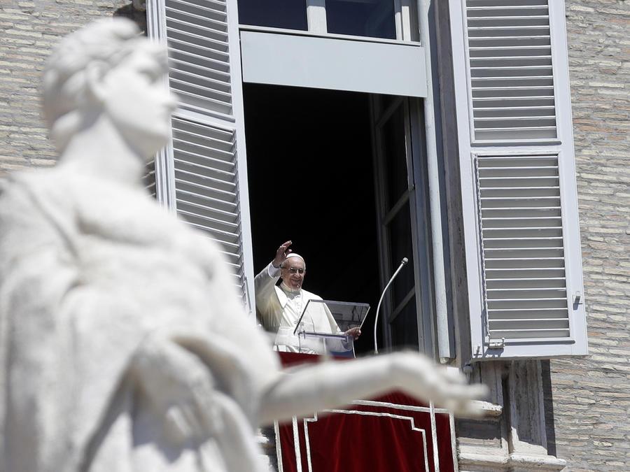 El Papa, en El Vaticano el 15 de agosto.