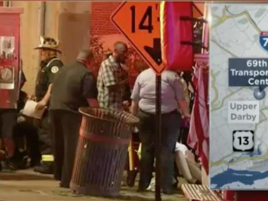 Accidente de trenes en Filadelfia dejó 42 heridos