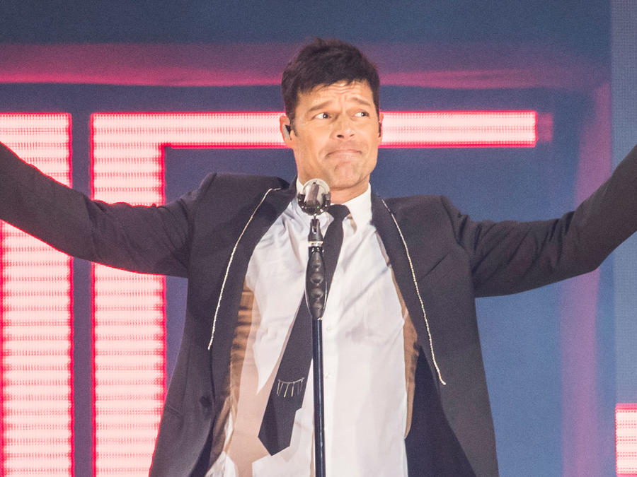 Ricky Martin en concierto en Barcelona