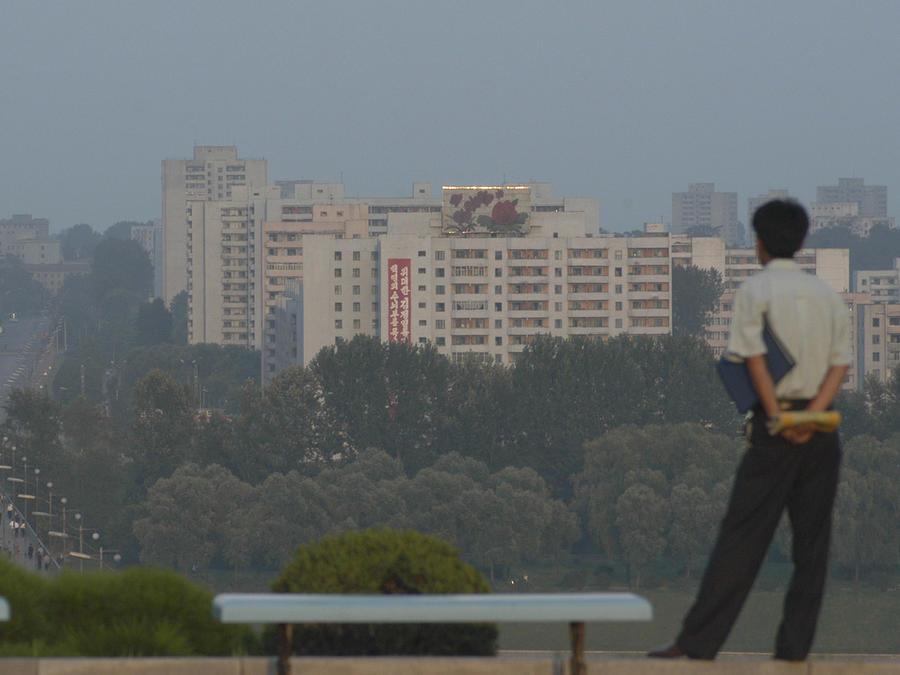 Vista general de la ciudad de Pyongyang, Corea del Norte, en una imagen tomada el 17 de agosto de 2017.