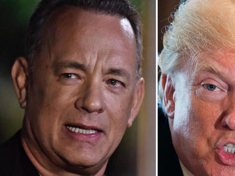 Tom Hanks arremete contra Trump