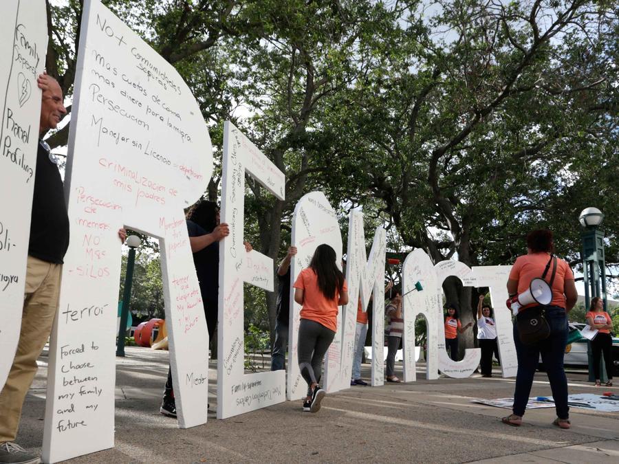 Protestas para aprobación del dream act en Miami