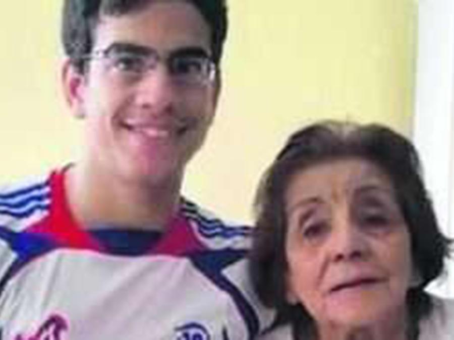 Mauricio Ossola y su esposa