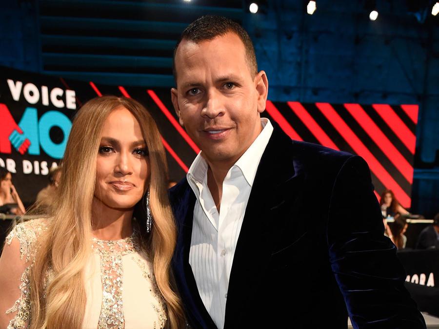 Jennifer Lopez y Alex Rodriguez en One Voice: Somos