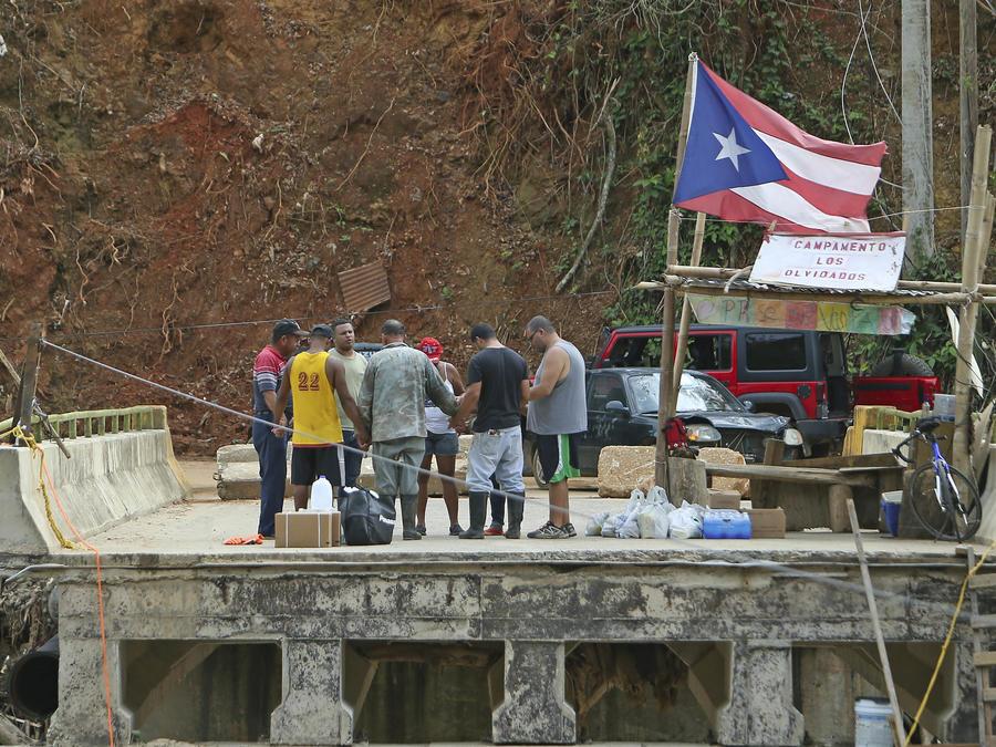 6 meses después del paso del Huracán María, Puerto Rico aún no puede levantarse
