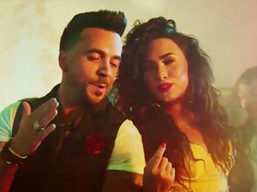 Luis Fonsi y Demi Lovato