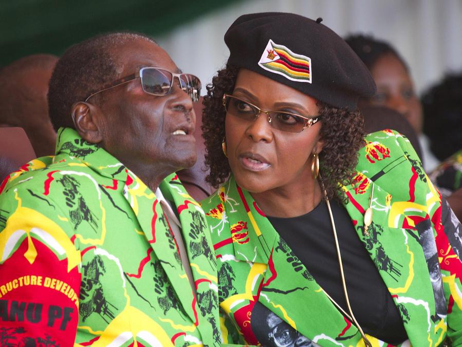 Presidente Mugabe
