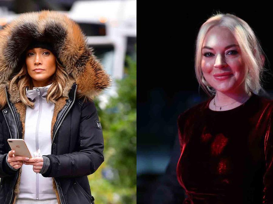 Jennifer Lopez and Lindsay Lohan