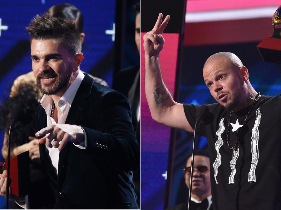 Juanes, Residente, Latin Grammy 2017
