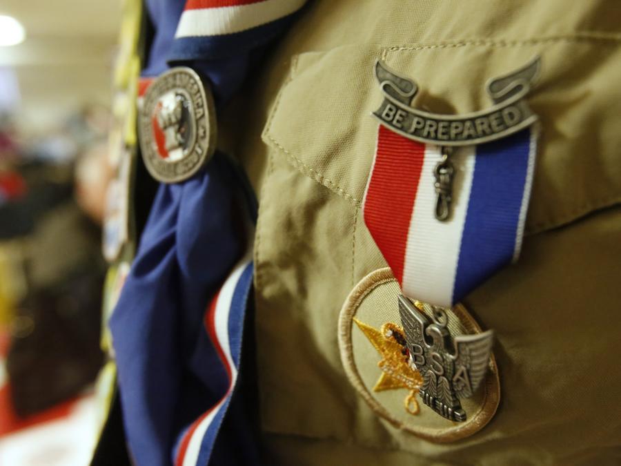 Emblema de Eagle scout, en una imagen de archivo.