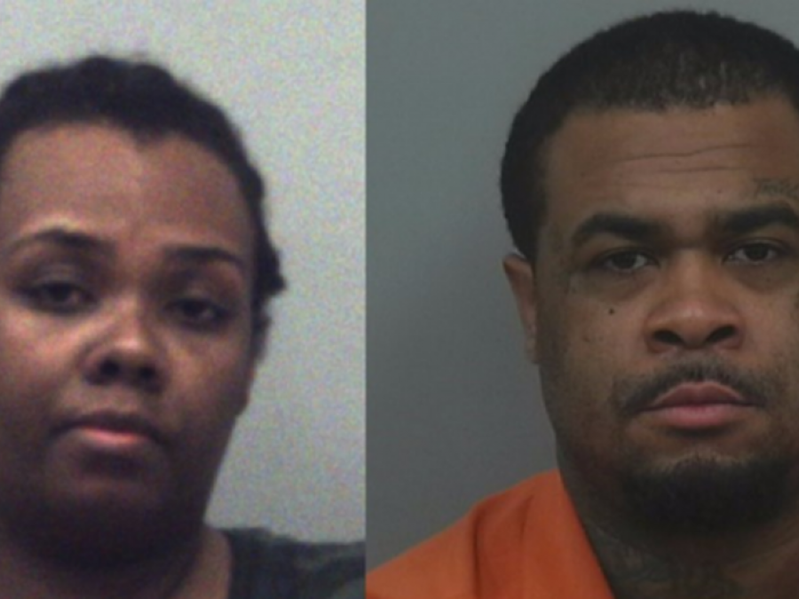 Rimmon Lewis y Angela Strothers