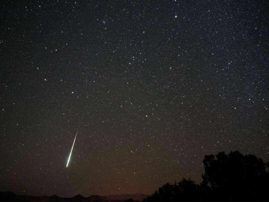 Captan a un meteorito surcando los cielos