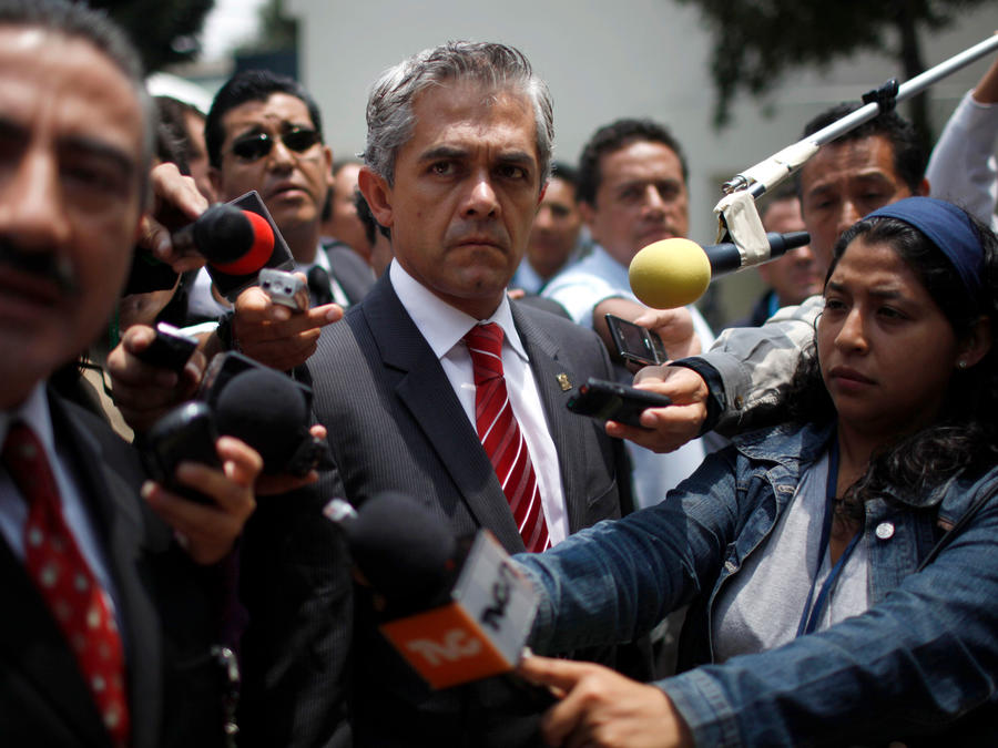 Miguel Ángel Mancera, alcalde de Ciudad de México, en una foto de archivo