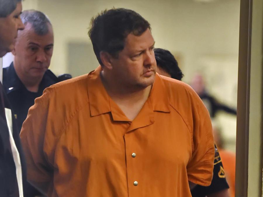 Todd Kohlhepp, durante una vista judicial en noviembre de 2016.