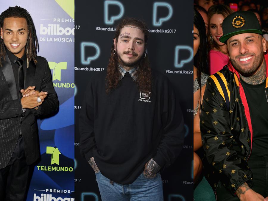 Ozuna, Post Malone, Nicky Jam