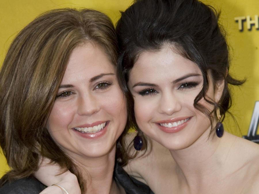 Selena Gomez con su mamá