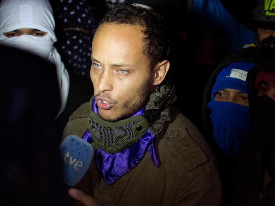 El oficial venezolano Óscar Pérez, quién atacó desde un helicóptero el Tribunal Supremo y la sede del Ministerio de Relaciones Interiores en Caracas en el año 2017