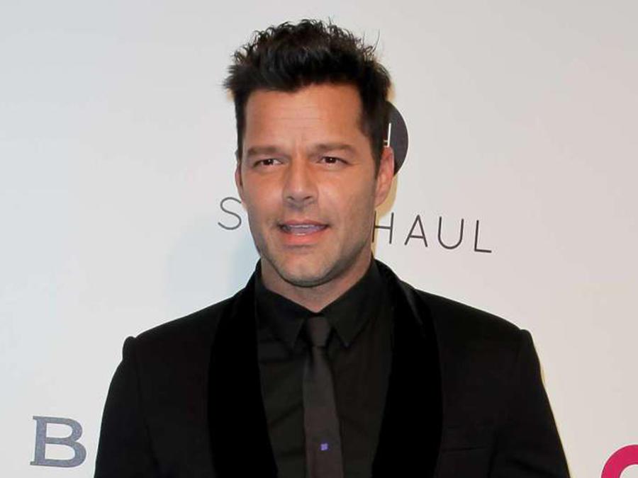 Una periodista le confiesa todo su amor y admiración a Ricky Martin