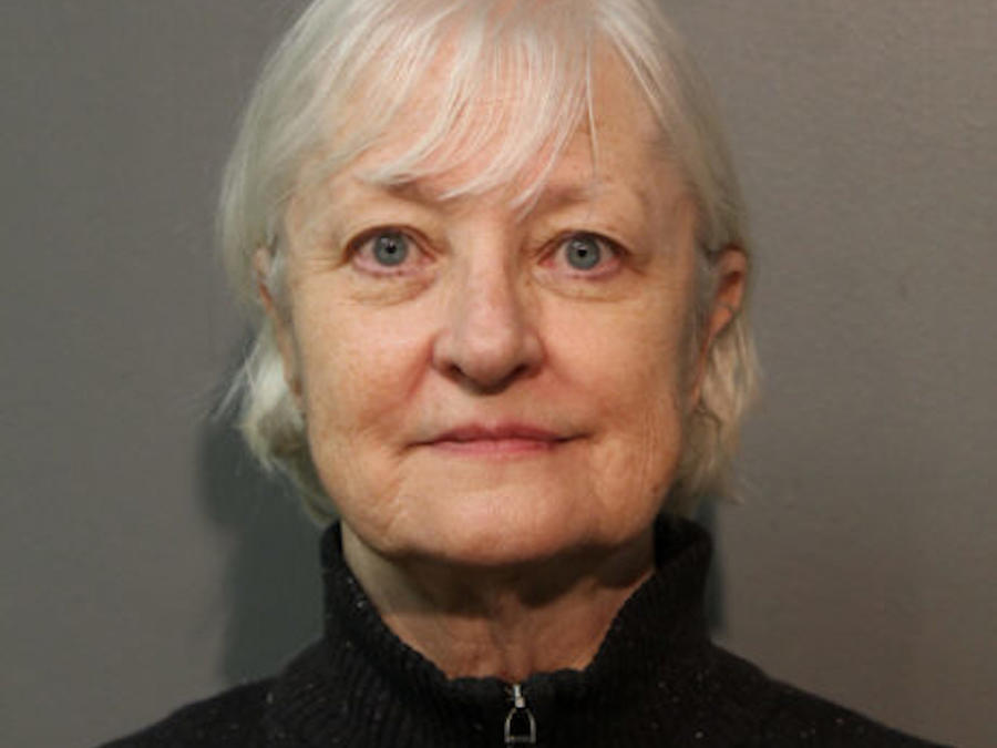 Marilyn Hartman, en una foto policial tras su detención.