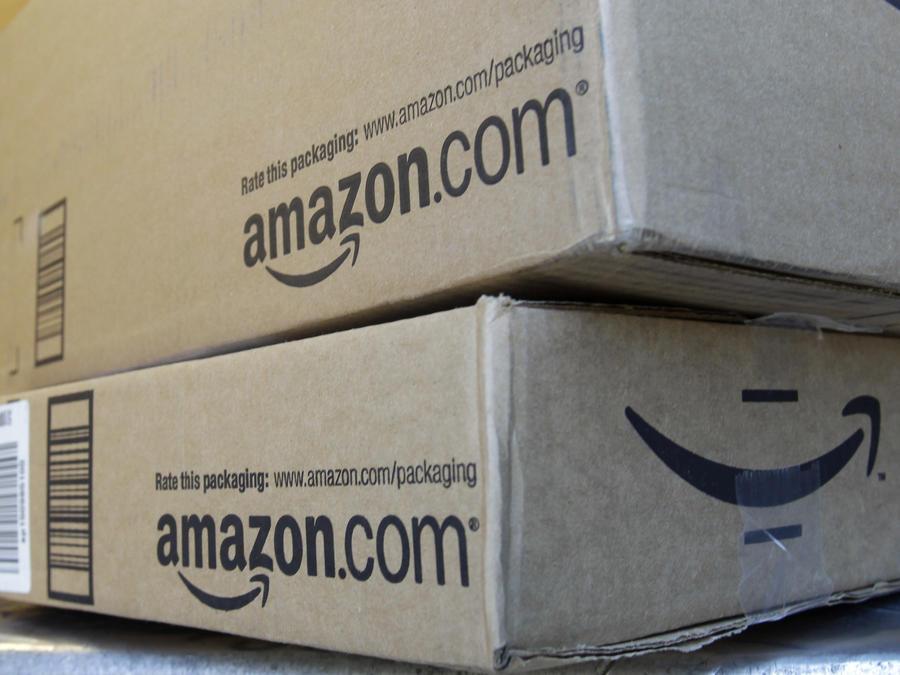 Un paquete de Amazon en California, en una imagen de archivo de 2011.