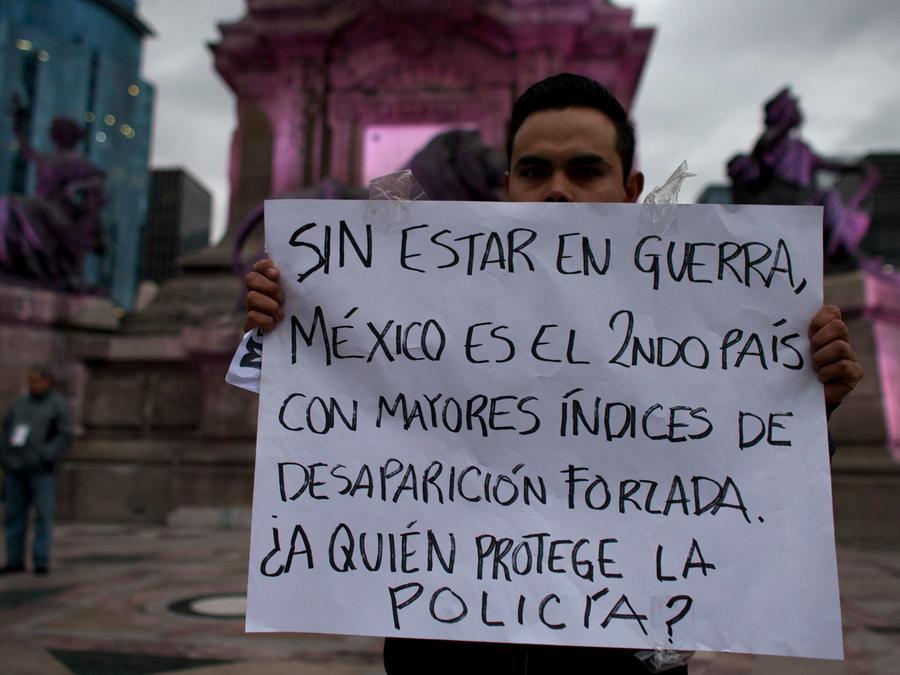 Protestas en México por desaparecidos y cuyos casos siguen impunes