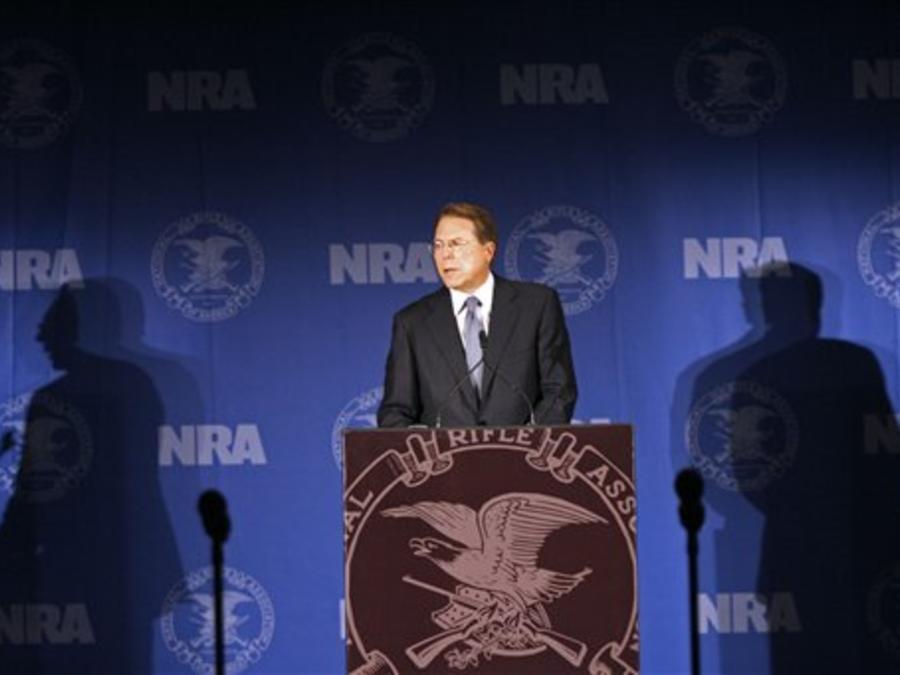El vicepresidente ejecutivo y CEO de NRA, Wayne LaPierre, en una foto de archivo.