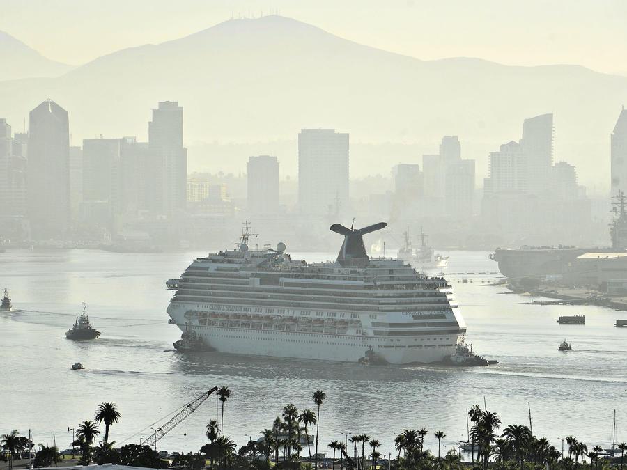 Imagen de archivo de un buque de la compañía de cruceros Carnival.