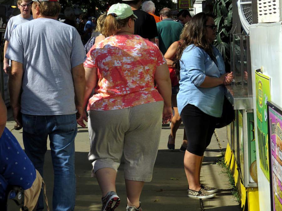 pareja obesos