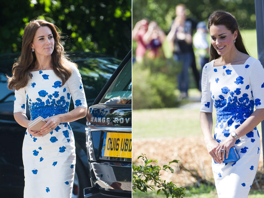 Kate Middleton con outfit repetido