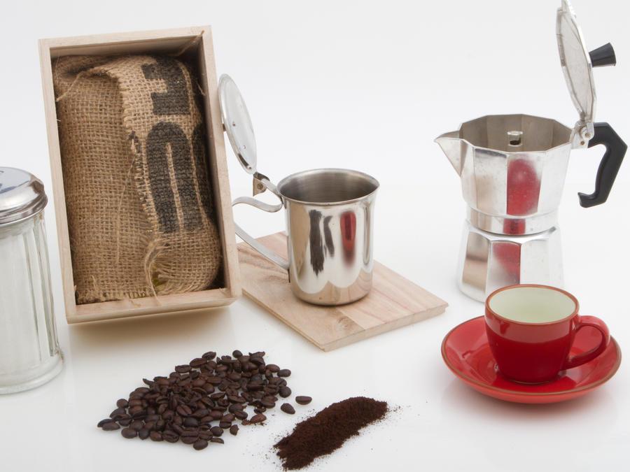Dominican Coffee colador de cafe